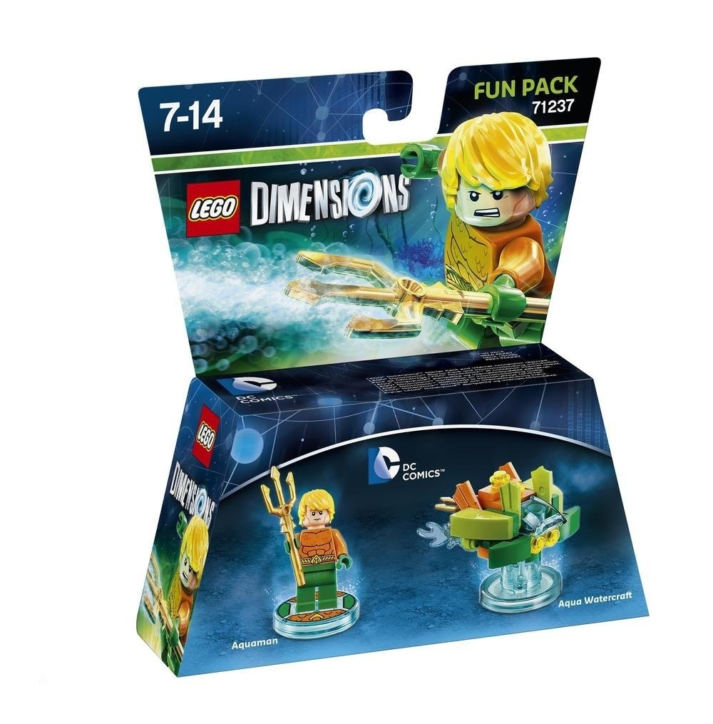 LEGO Dimensions Fun Pack DC Aquaman 71237