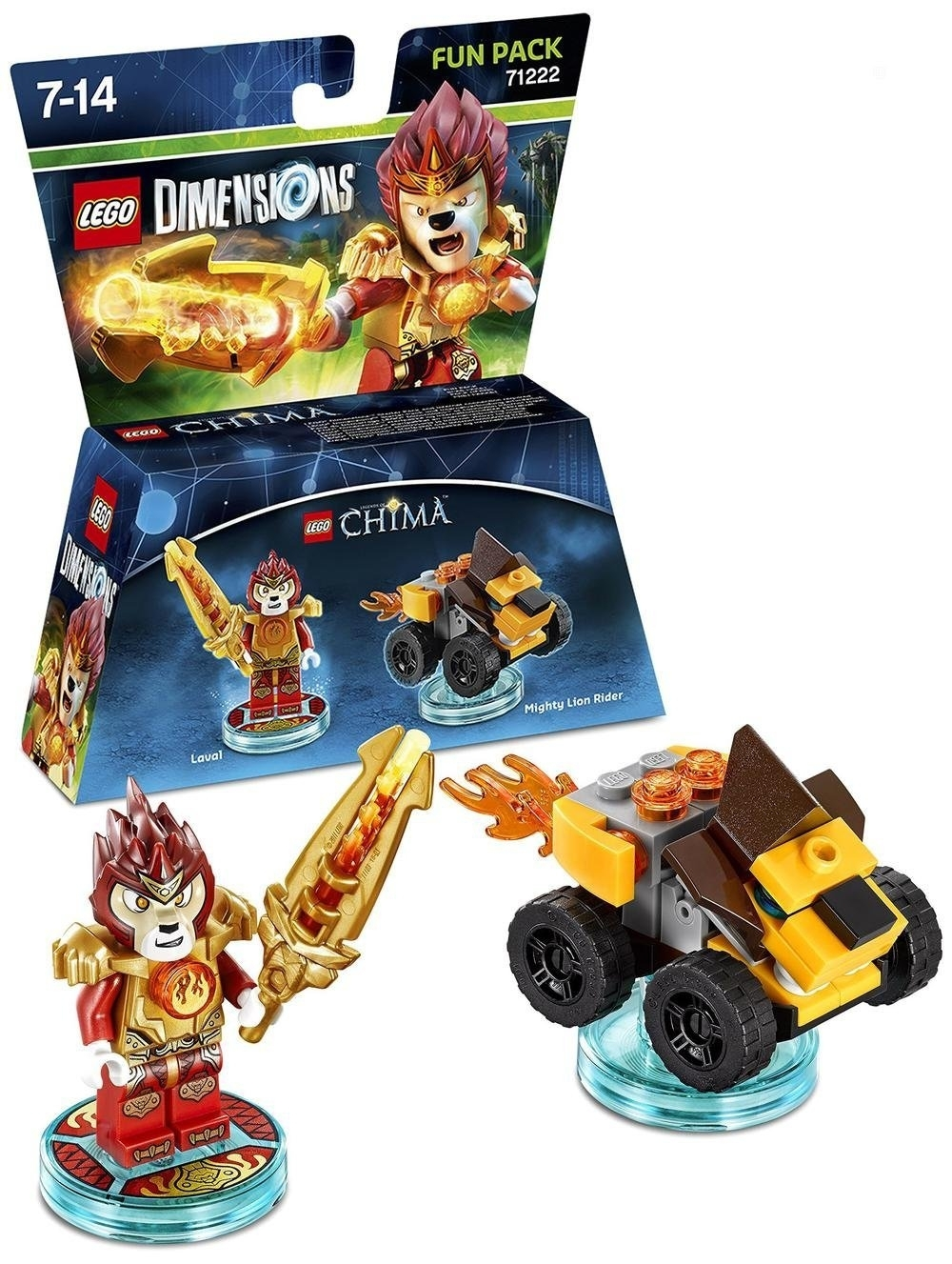 LEGO Dimensions Fun Pack Laval LEGO Chima  71222