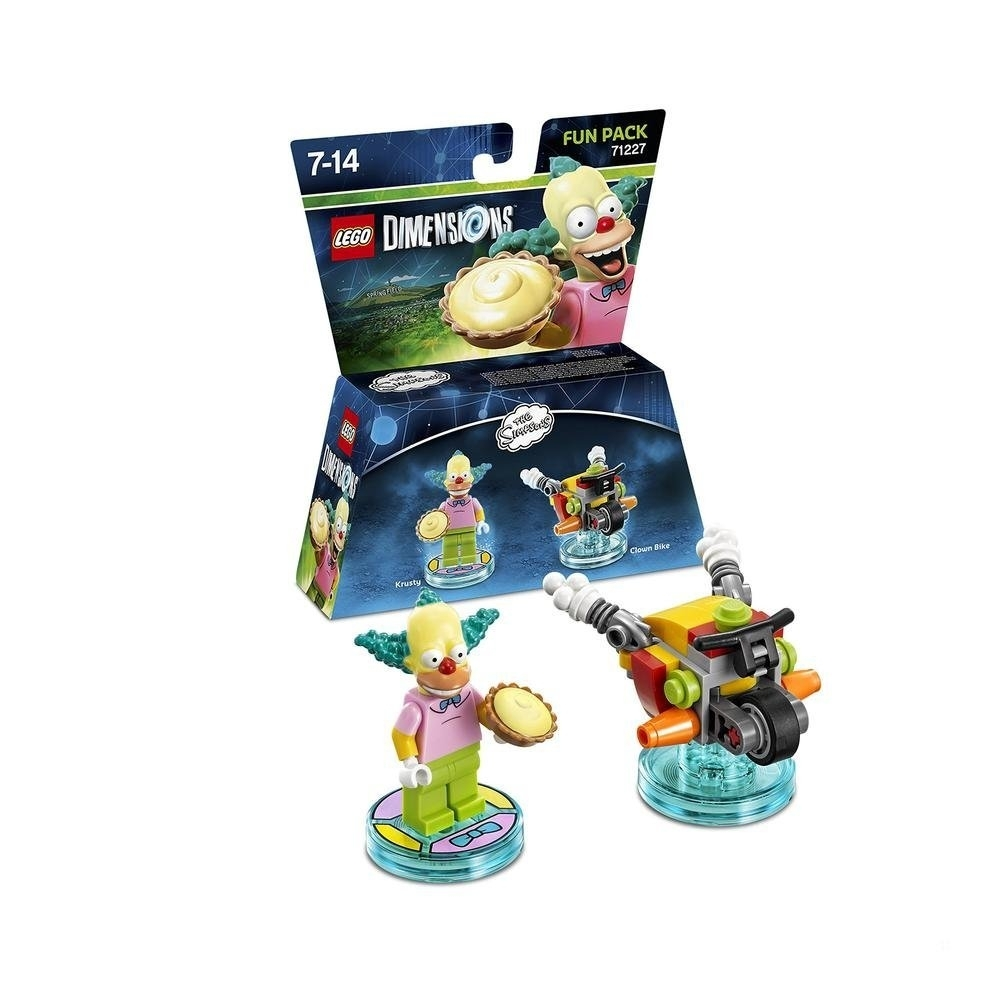 Lego Dimensions The Simpsons Krusty Fun Pack