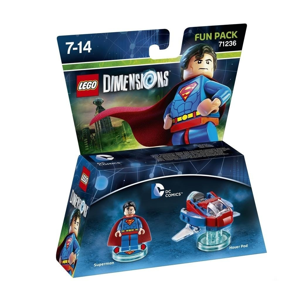 LEGO Dimensions Fun Pack  DC  Superman 71236