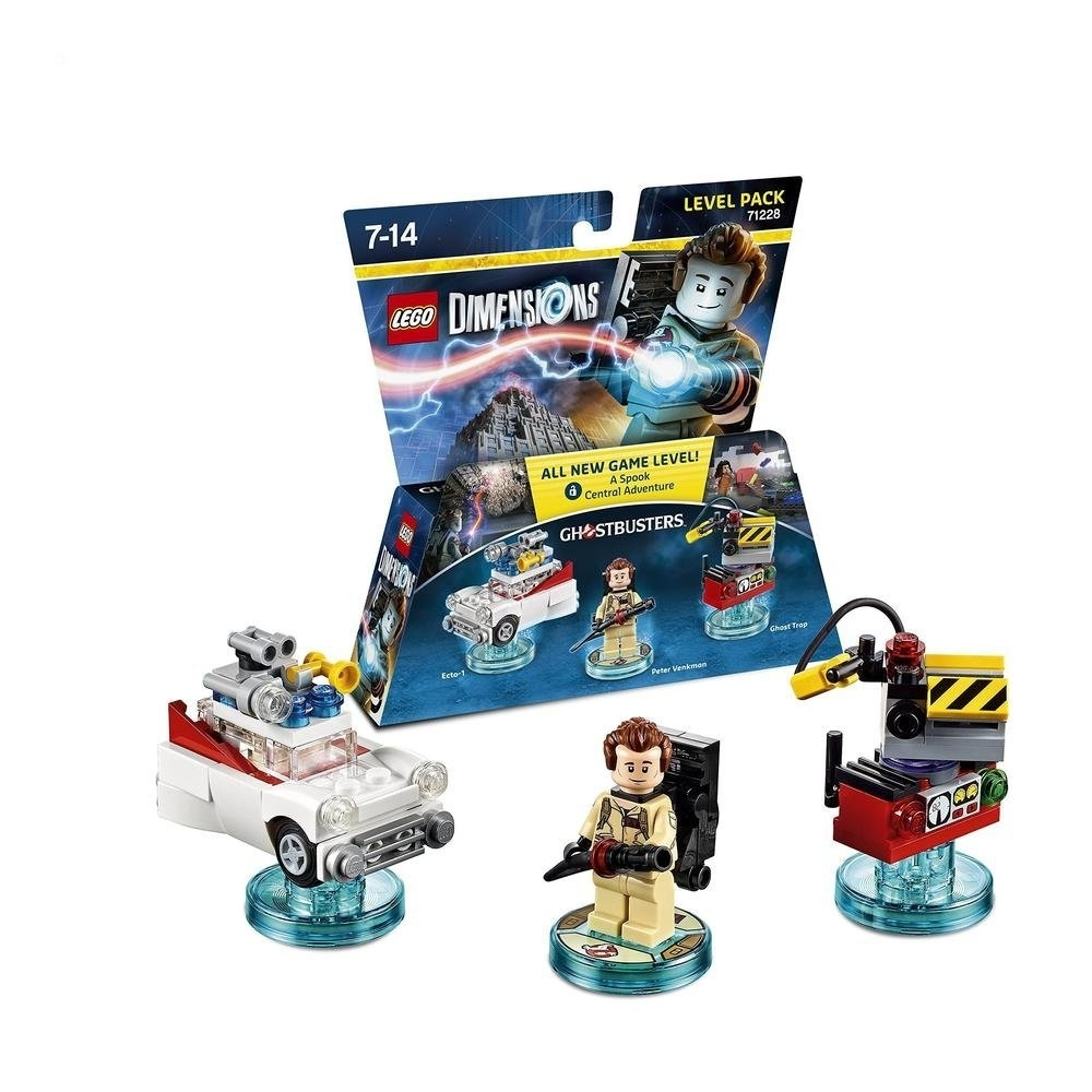 LEGO Dimensions Peter Venkman Ghostbusters