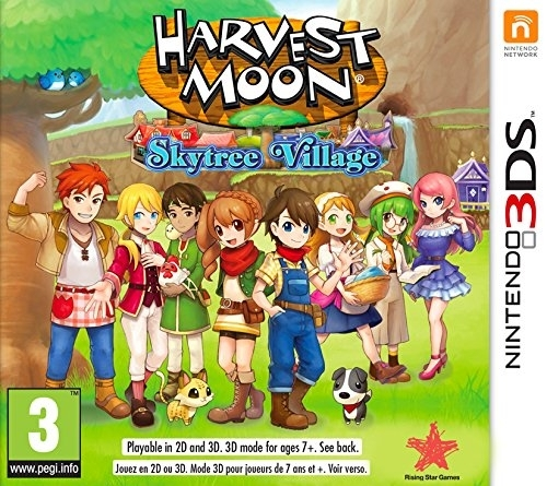 Harvest Moon Skytree Village (3DS)
