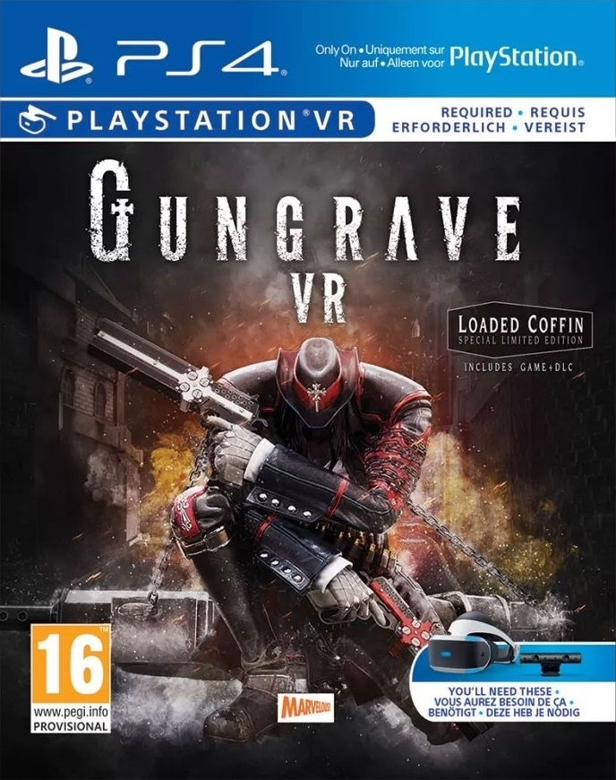 Gungrave VR Loaded Coffin Edition (PS4)