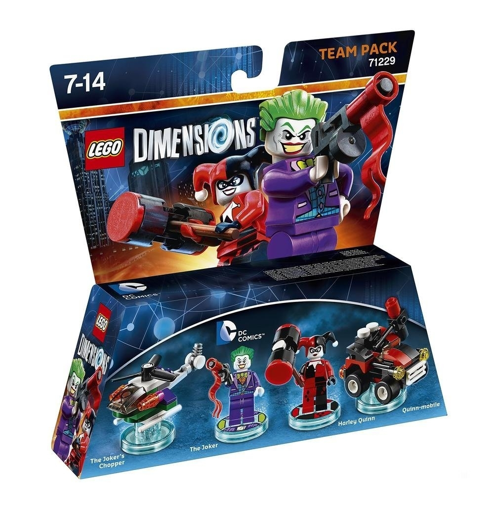 LEGO Dimensions Team Pack DC Joker/Harley Team 71229
