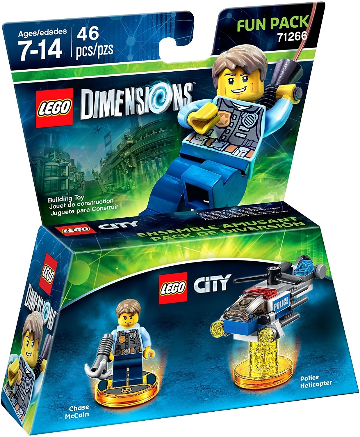 LEGO Dimensions Fun Pack Lego City Chase McCain 71266