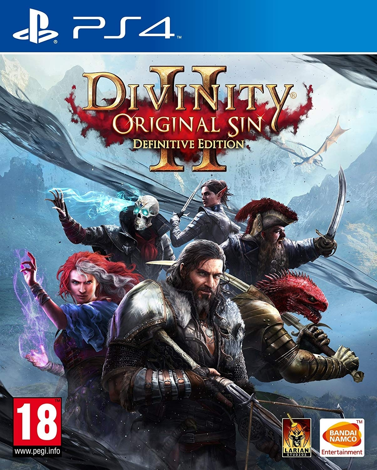 Divinity: Original Sin II - Definitive Edition PL (PS4)