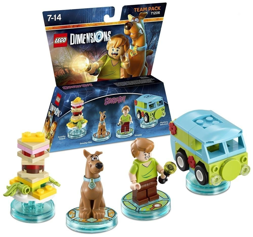 LEGO Dimensions Scooby Doo Team Pack