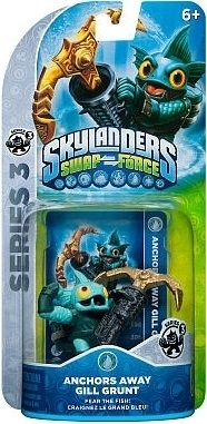 Figurka Skylanders Swap Force - ANCHORS AWAY GILL GRUNT (PS3, Xbox 360, WiiU, Wii, 3DS)