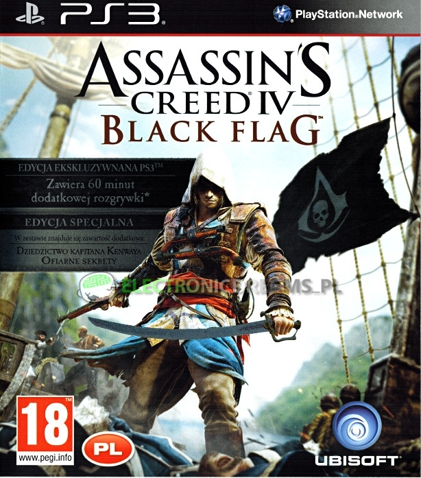 Assassin's Creed IV/4 Black Flag Edycja Specjalna PL (PS3)