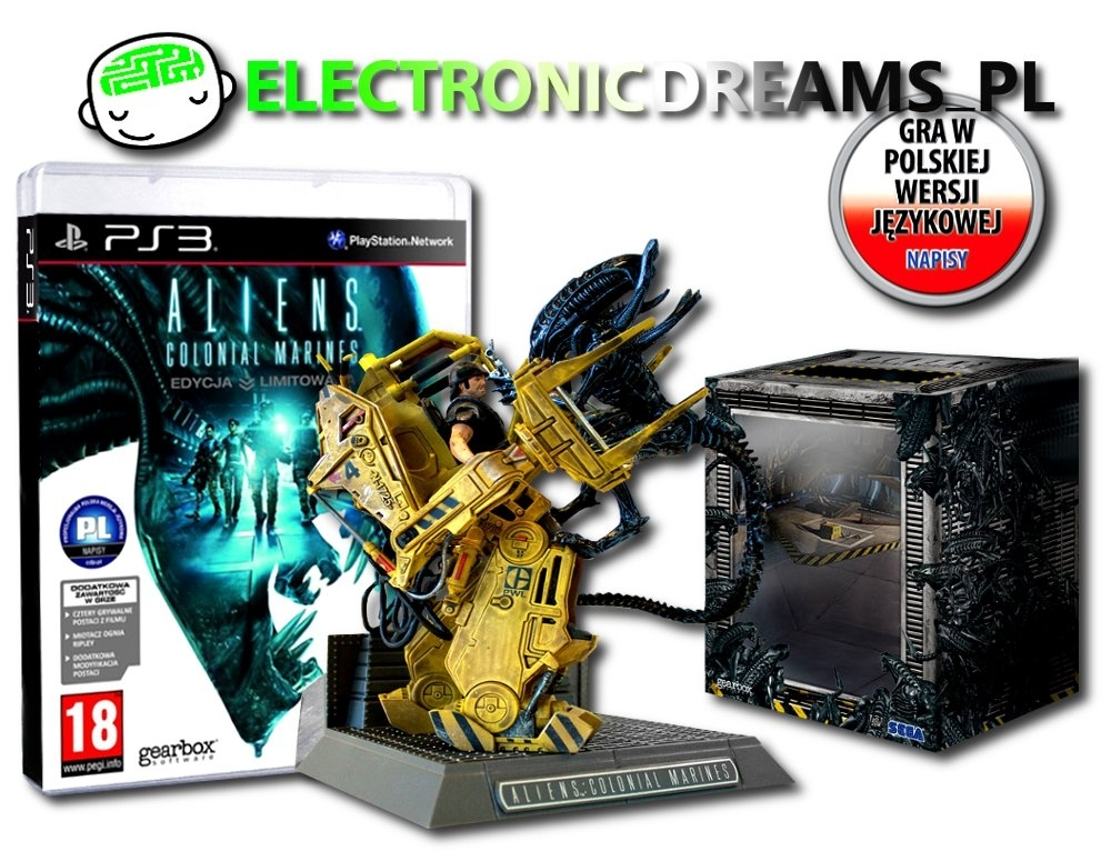 Aliens: Colonial Marines Collector's Edition PL (PS3)