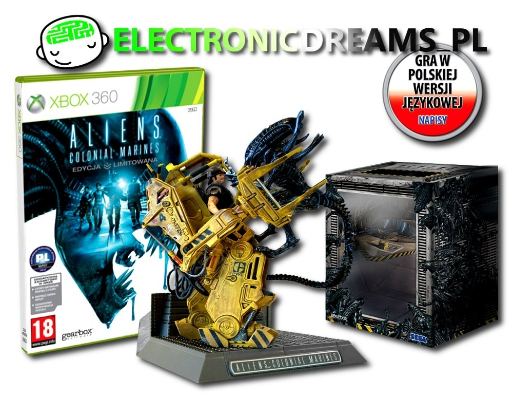 Aliens: Colonial Marines Collector's Edition PL (Xbox 360)