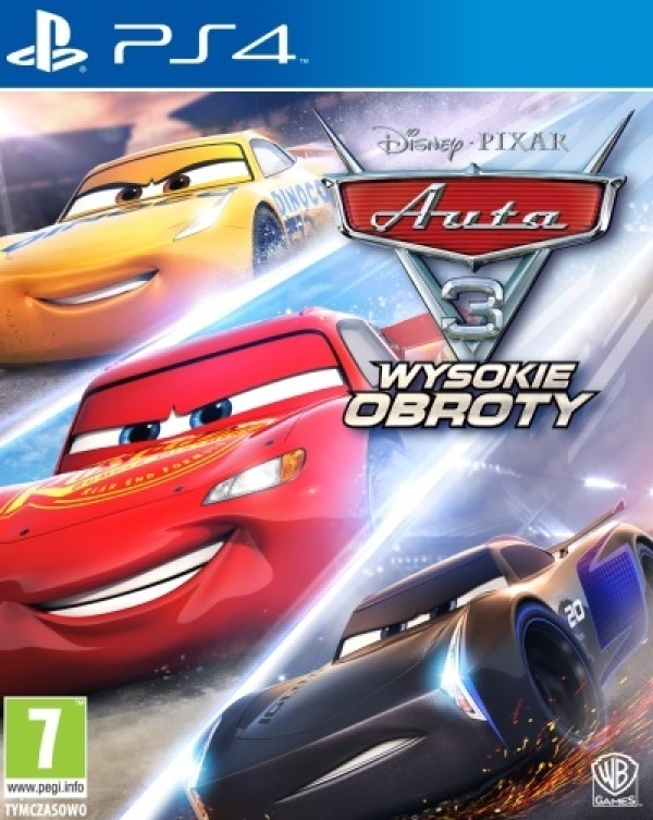 Auta 3 Wysokie Obroty / Cars 3 Driven to Win (PS4)