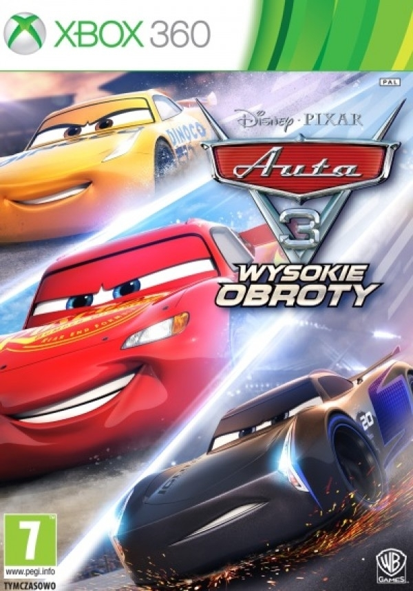 Auta 3 Wysokie Obroty / Cars 3 Driven to Win (Xbox 360)