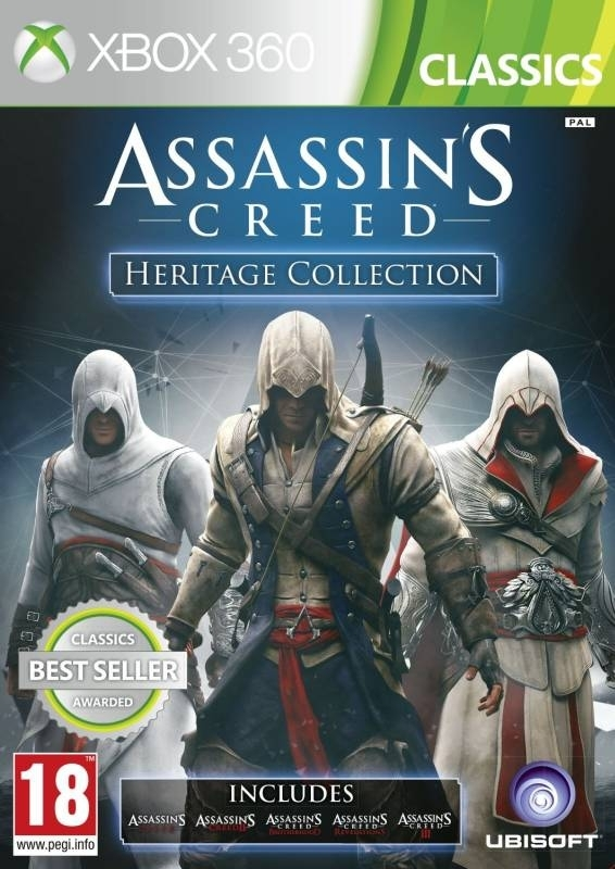 Assassins Creed Heritage Collection (Xbox 360)