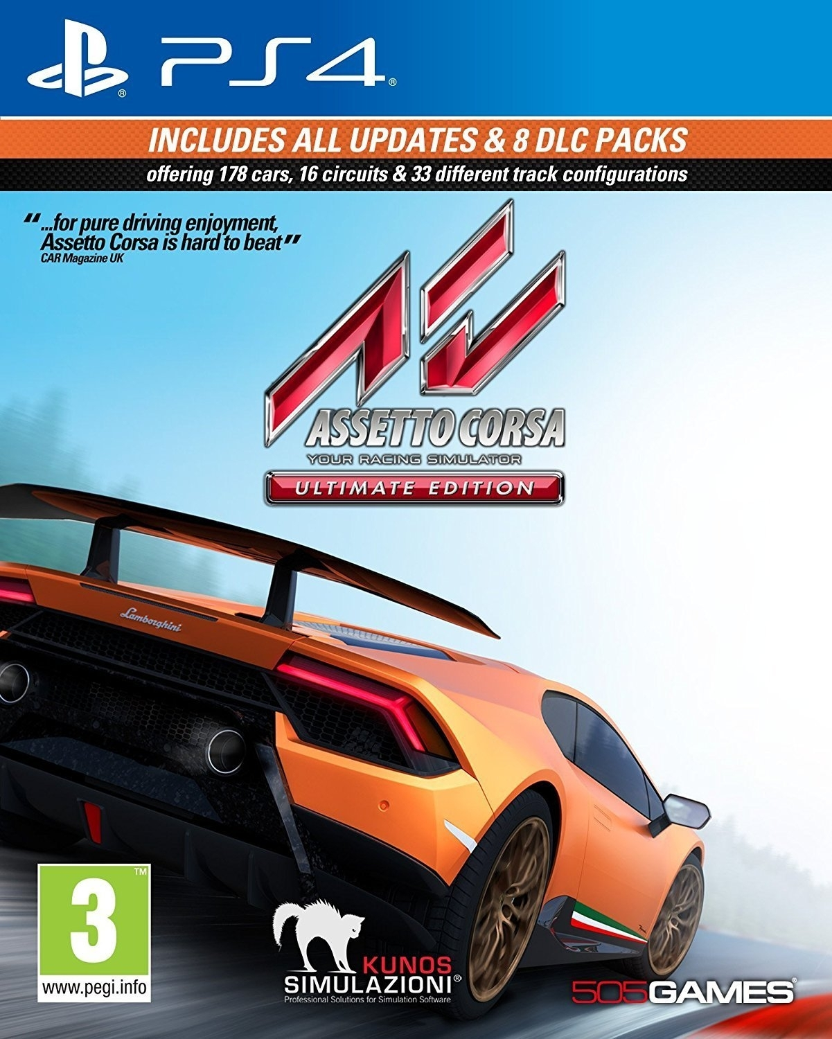 Assetto Corsa: Ultimate Edition (PS4)