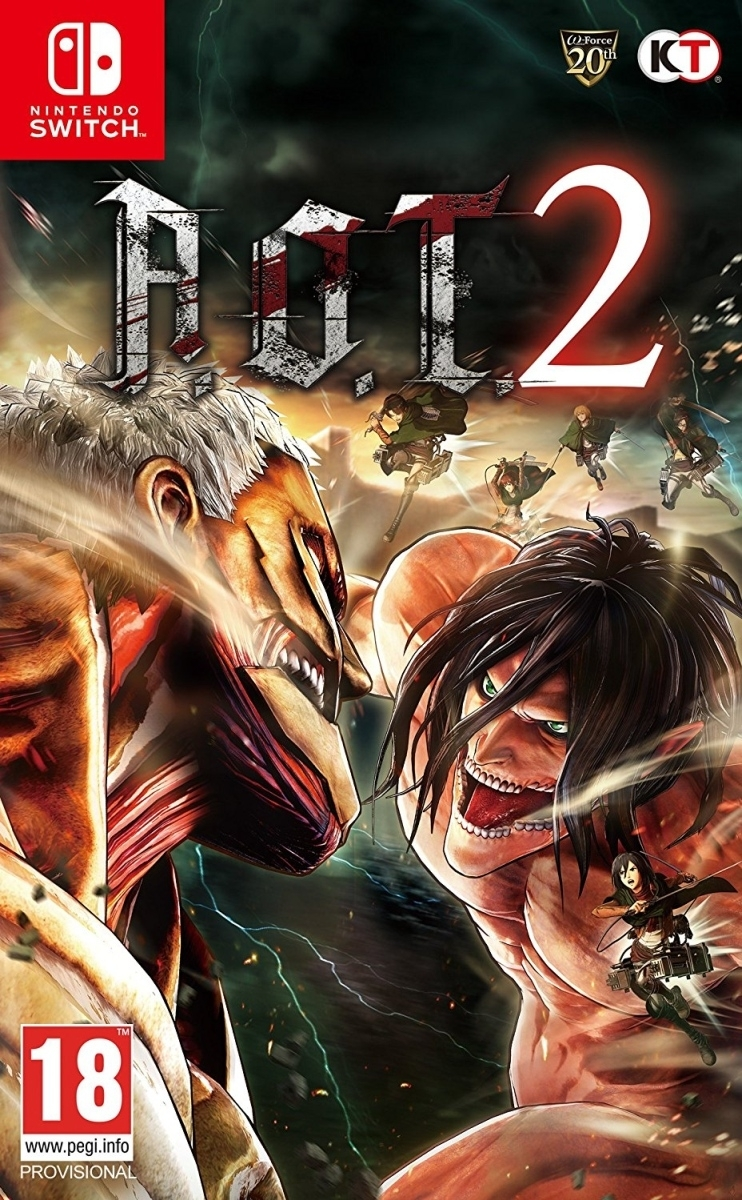 Attack on Titan A.O.T. 2 Nintendo Switch