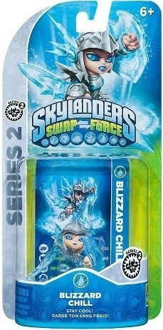 Figurka Skylanders Swap Force - BLIZZARD CHILL (PS3, Xbox 360, WiiU, Wii, 3DS)