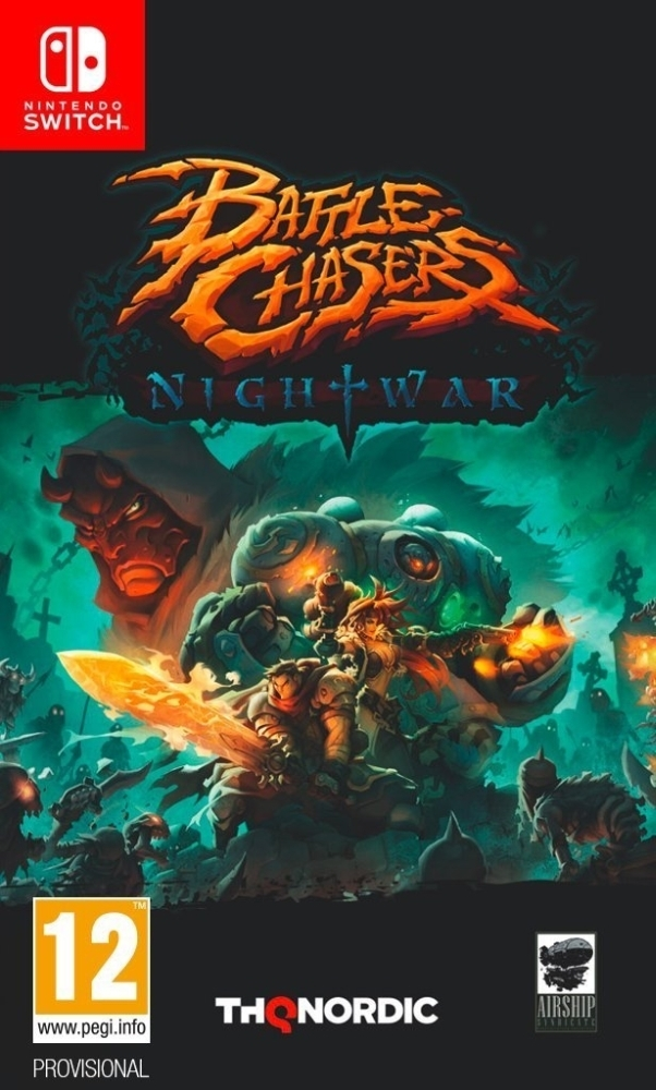 Battle Chasers Nightwar Nintendo Switch