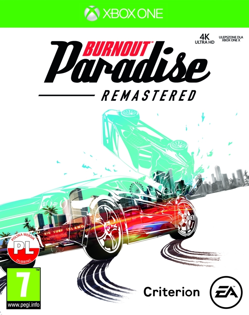Burnout Paradise Remastered PL (Xbox One)