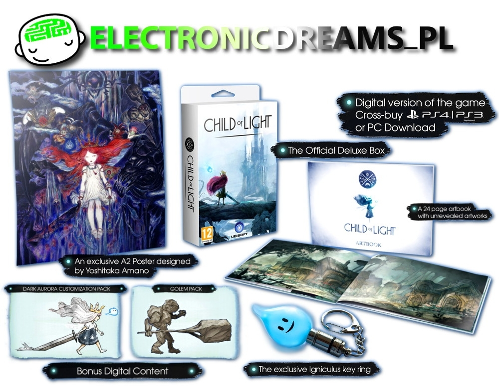Child of Light Deluxe Edition (PS3)