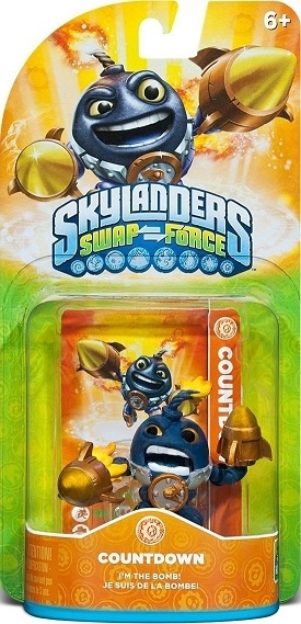 Figurka Skylanders Swap Force - COUNTDOWN LIGHTCORE  (PS3, Xbox 360, WiiU, Wii, 3DS)