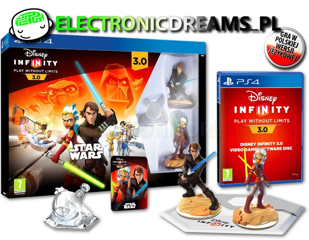 Disney Infinity 3.0 Star Wars Starter Pack (PS4)