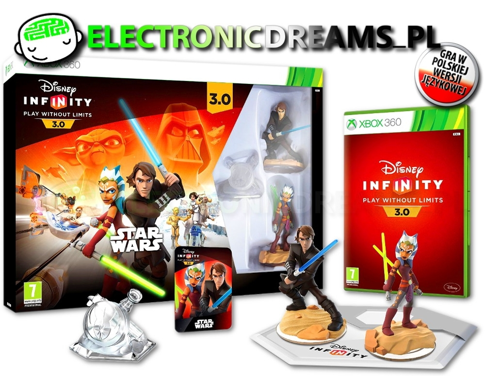 Disney Infinity 3.0 Star Wars Starter Pack (Xbox 360)