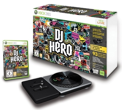 Dj Hero Bundle Pack Zestaw z Adapterem (Xbox 360)