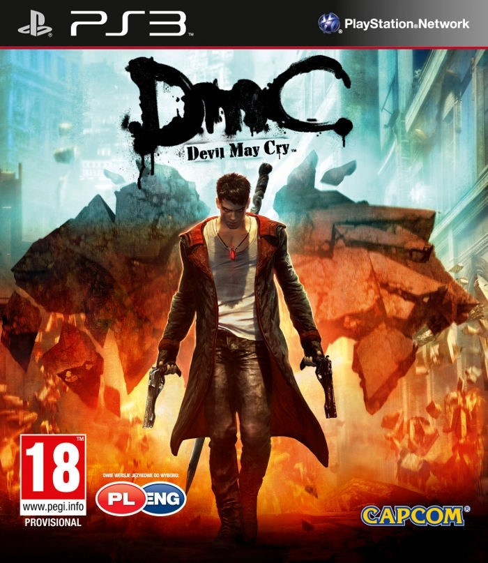 DmC Devil May Cry PL / ANG (PS3)