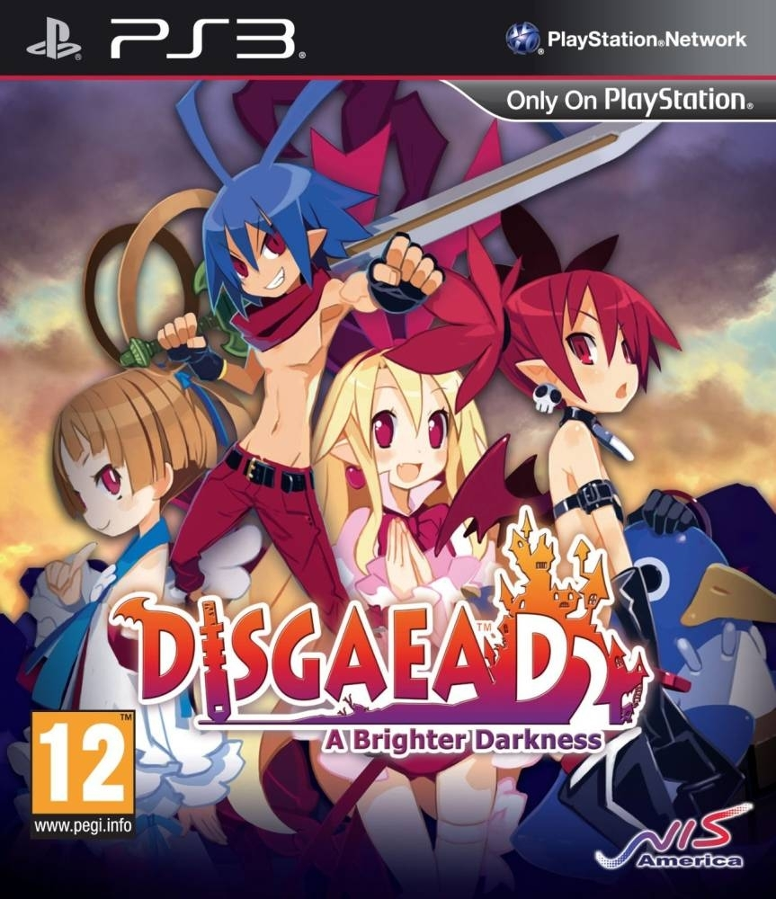 Disgaea D2 A Brighter Darkness (PS3)