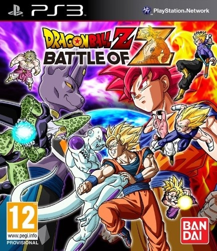 Dragon Ball Z Battle of Z + DLC (PS3)