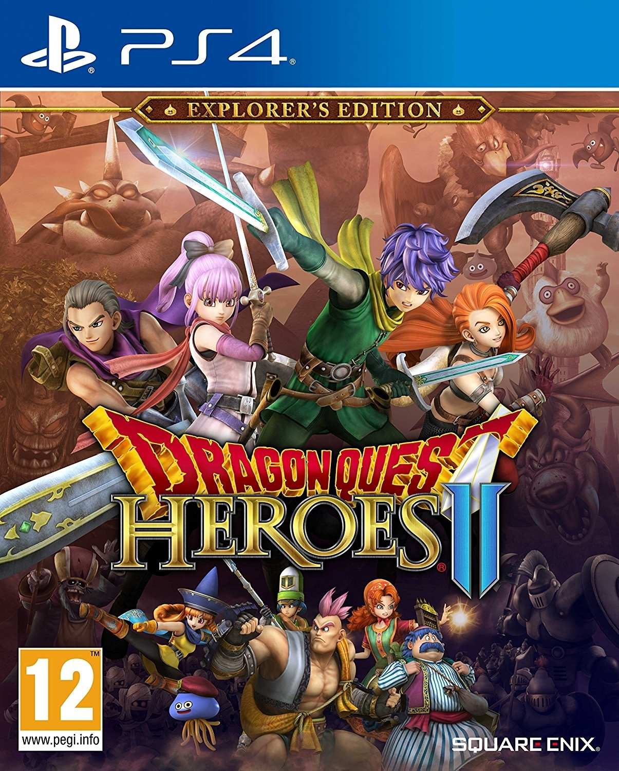 Dragon Quest Heroes II Explorers Edition (PS4)