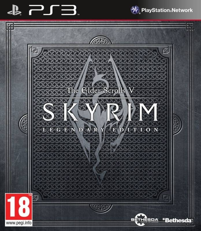 Elder Scrolls V Skyrim Legendary Edition (PS3)