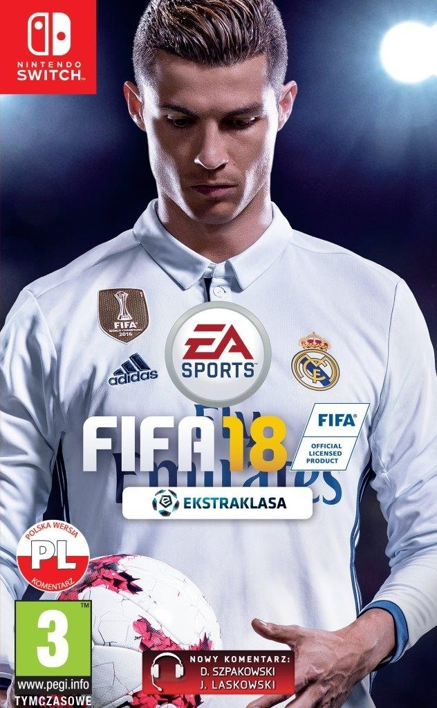 FIFA 18 2018 PL Nintendo Switch