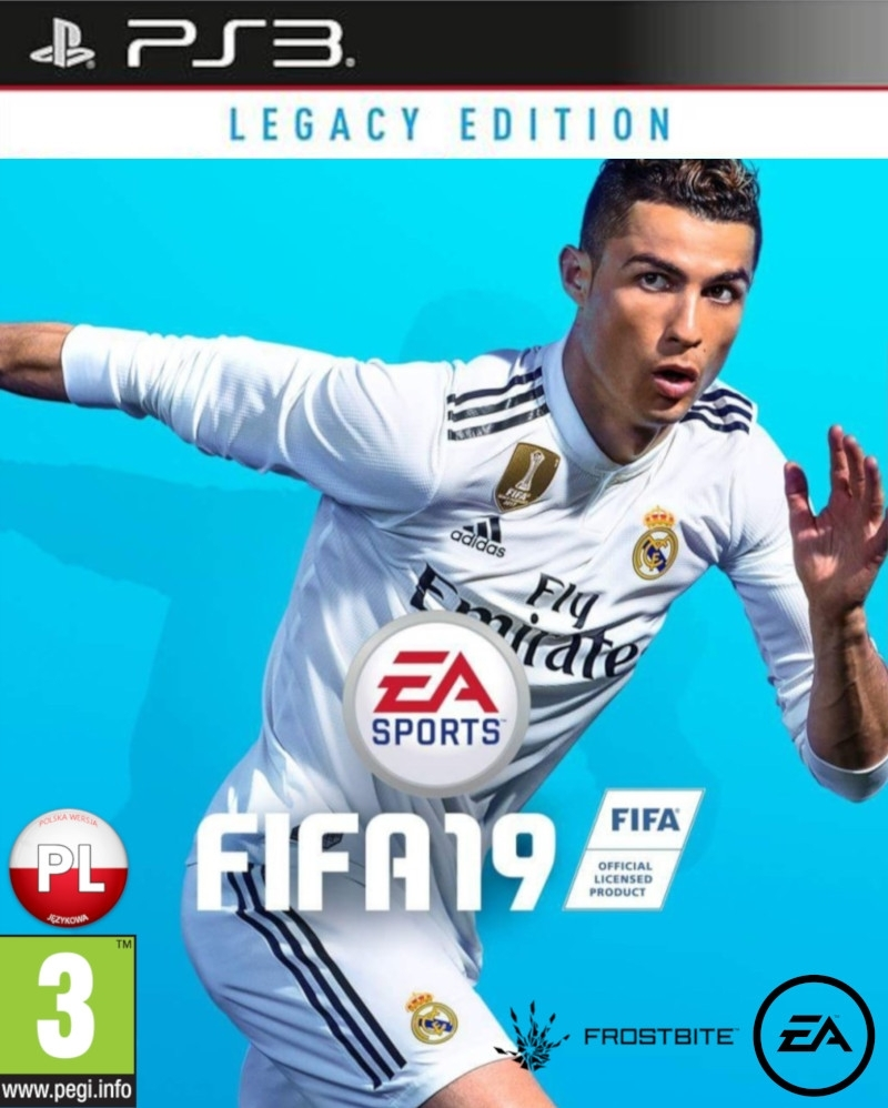 FIFA 19 Legacy Edition PL (Playstation 3)