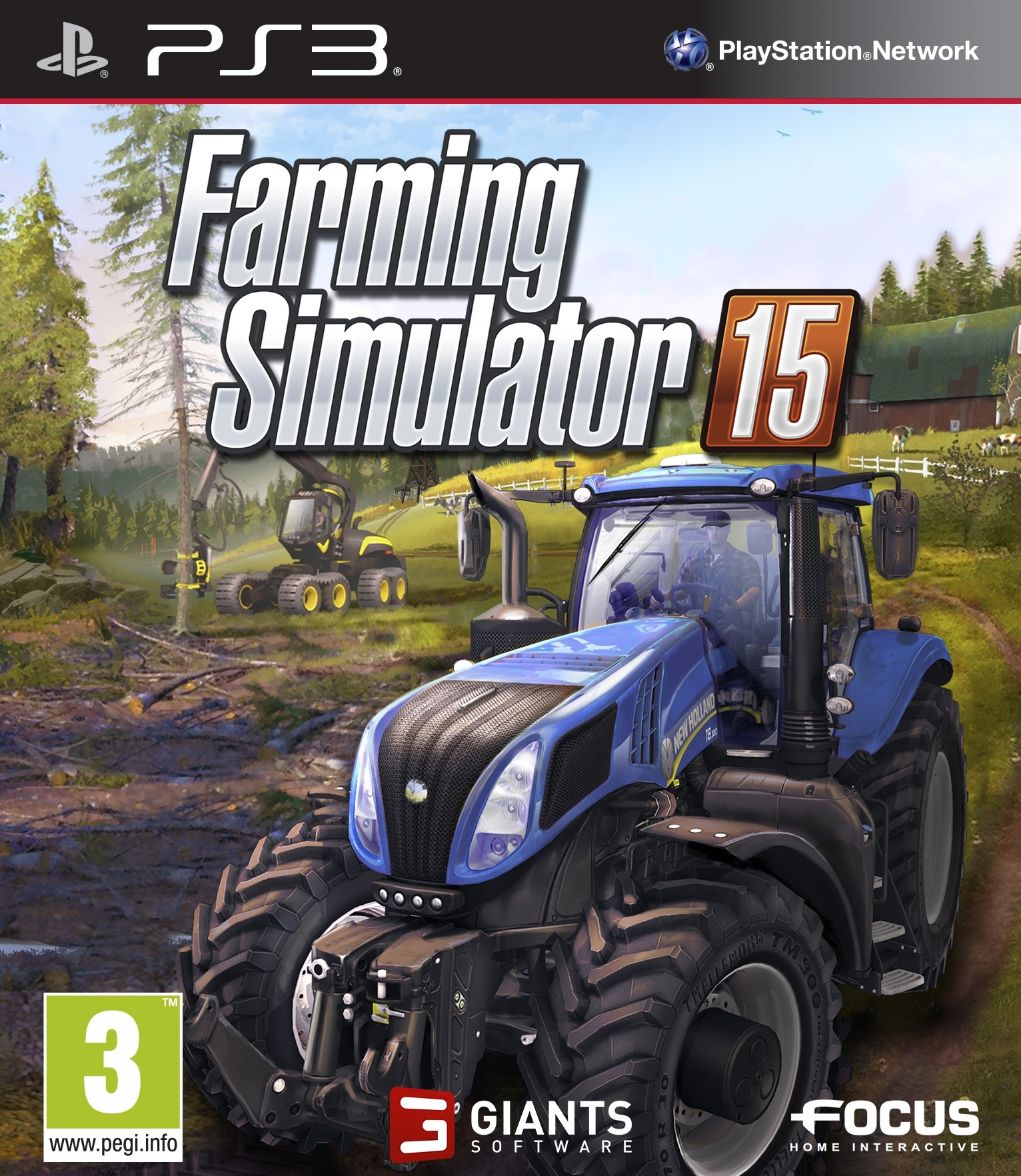 Symulator Farmy 15 Farming Simulator 15 2015 (PS3)