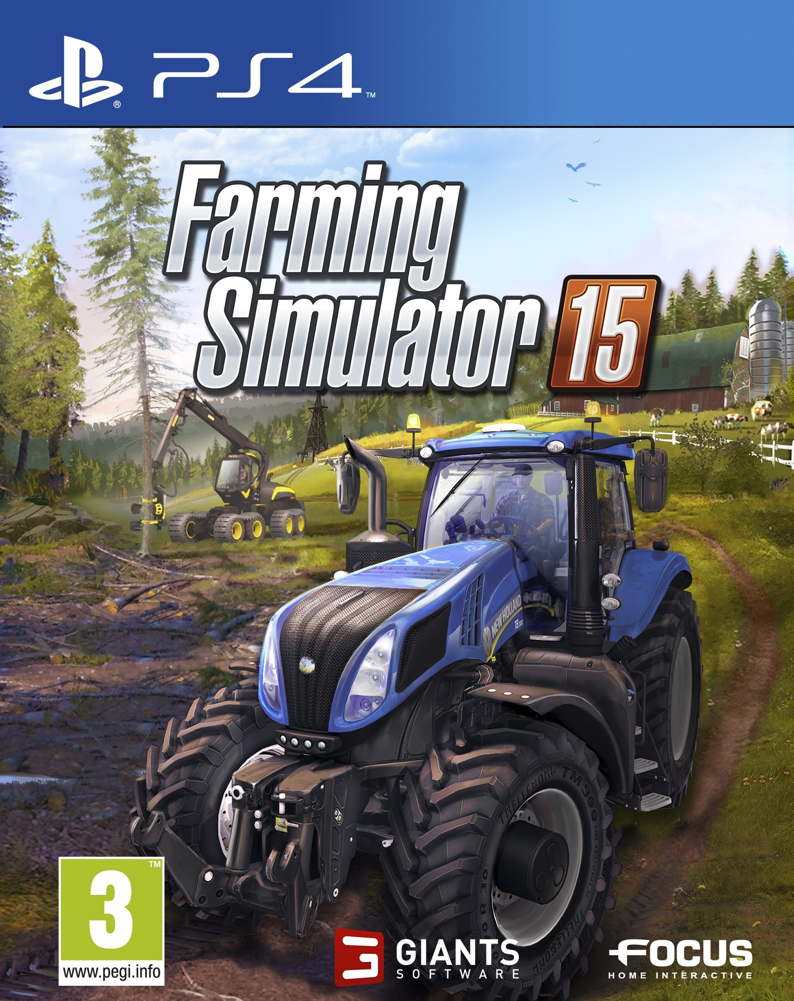 Symulator Farmy 15 Farming Simulator 15 2015 (PS4)