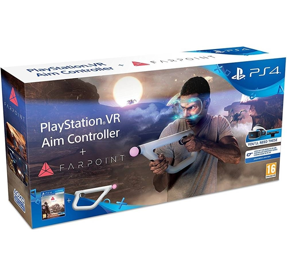 Farpoint + Sony PlayStation VR Aim Controller (PS4)