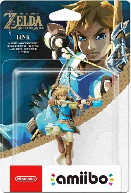 Figurka Amiibo Zelda - Link Archer z The Legend of Zelda Breath of the Wild (3DS, 2DS, WiiU,Nintendo Switch)