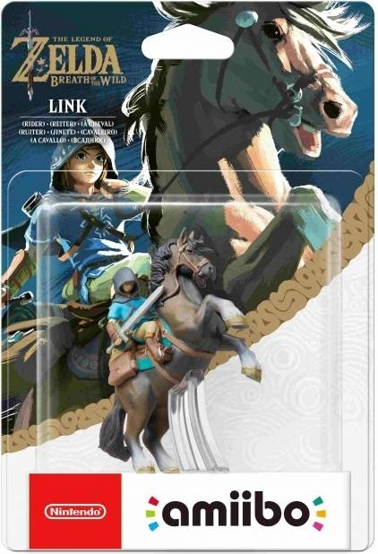 Figurka Amiibo Zelda Link Rider Jeździec z The Legend of Zelda Breath of the Wild (3DS, 2DS, WiiU,Nintendo Switch)