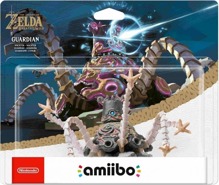 Figurka Amiibo Zelda - Guardian The Legend of Zelda Breath of the Wild (3DS, 2DS, WiiU,Nintendo Switch)