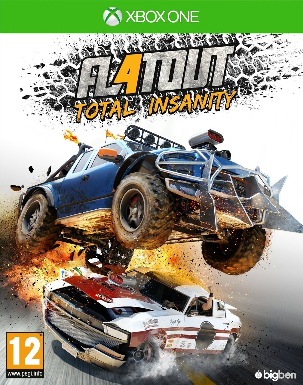 Flatout 4 Total Insanity (Xbox One)