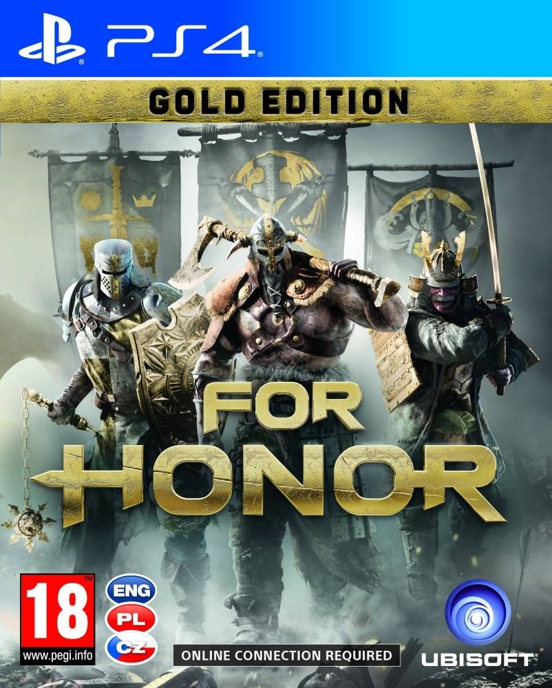 For Honor Gold Edition PL (PS4)