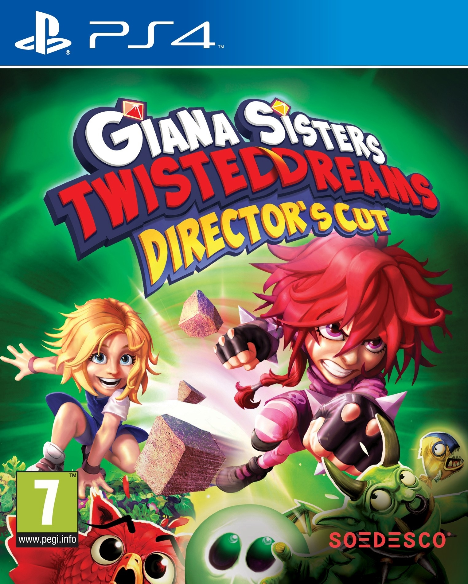 Giana Sisters: Twisted Dreams Directors Cut (PS4)