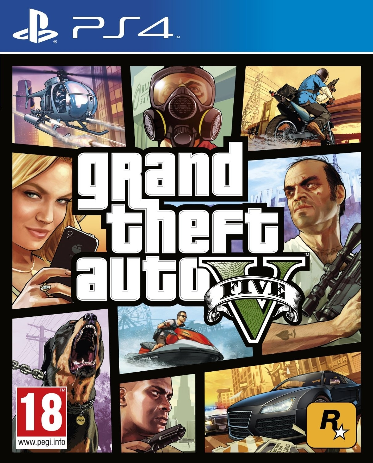 Grand Theft Auto V / GTA 5 / GTA V  PL/ANG  (PS4)