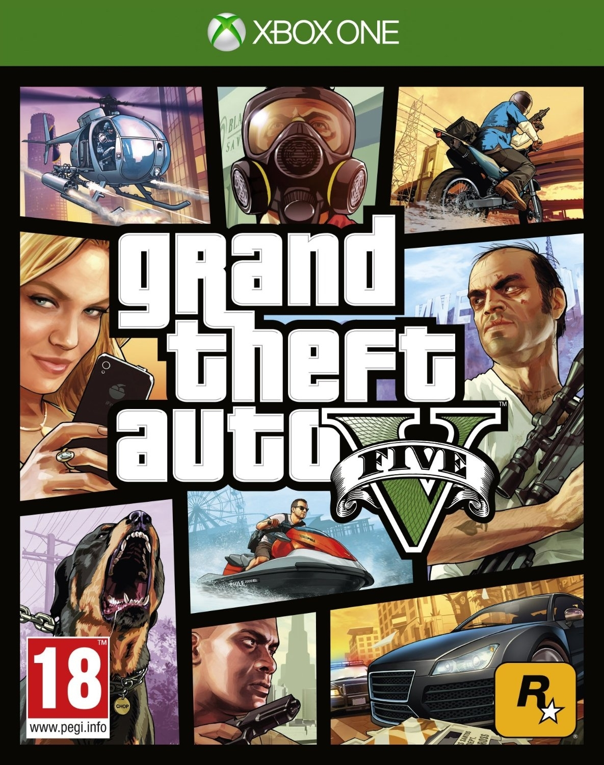 Grand Theft Auto V / GTA 5 / GTA V PL/ANG (Xbox One)