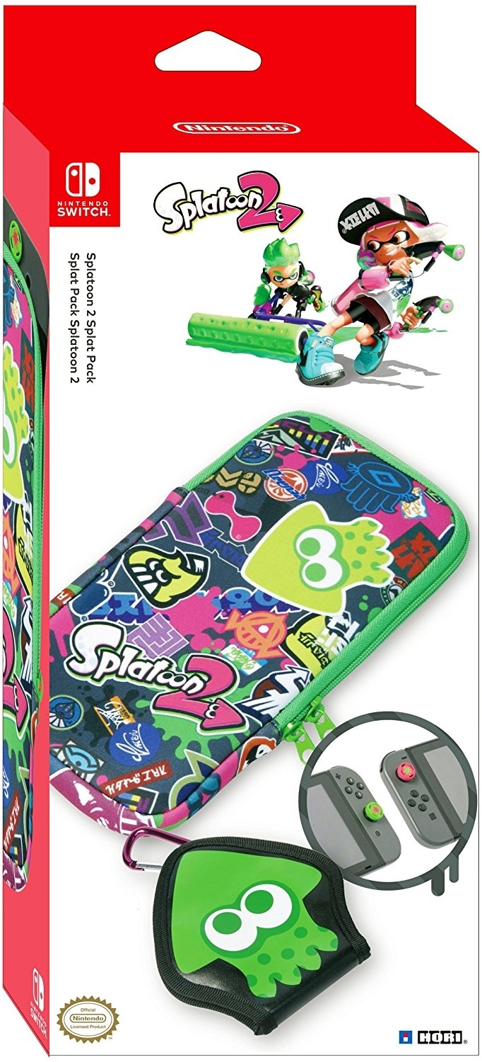 HORI Etui / Zestaw Splatoon 2 Splat Pack Nintendo Switch