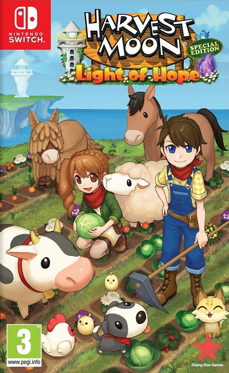 Harvest Moon: Light of Hope Special Edition Nintendo Switch