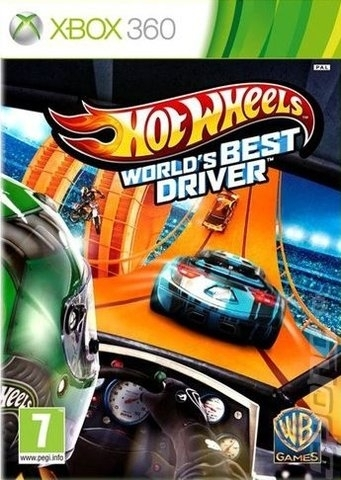 Hot Wheels World's Best Driver (Xbox 360)