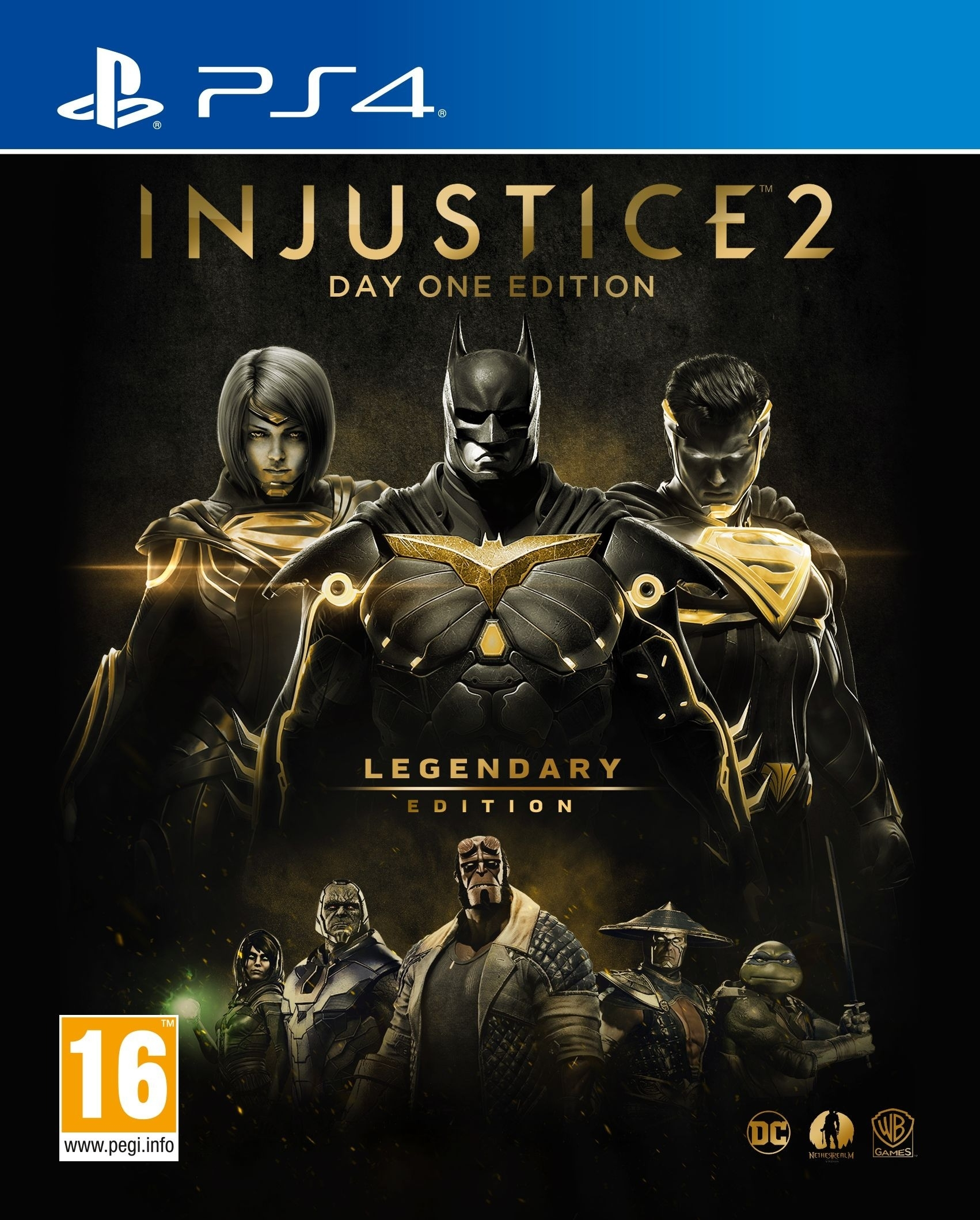Injustice 2 Legendary Edition GOTY PL (PS4)